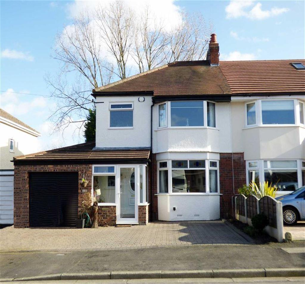 3 Bedrooms Semi Detached House for sale in Meadway Road, Cheadle Hulme, Cheshire