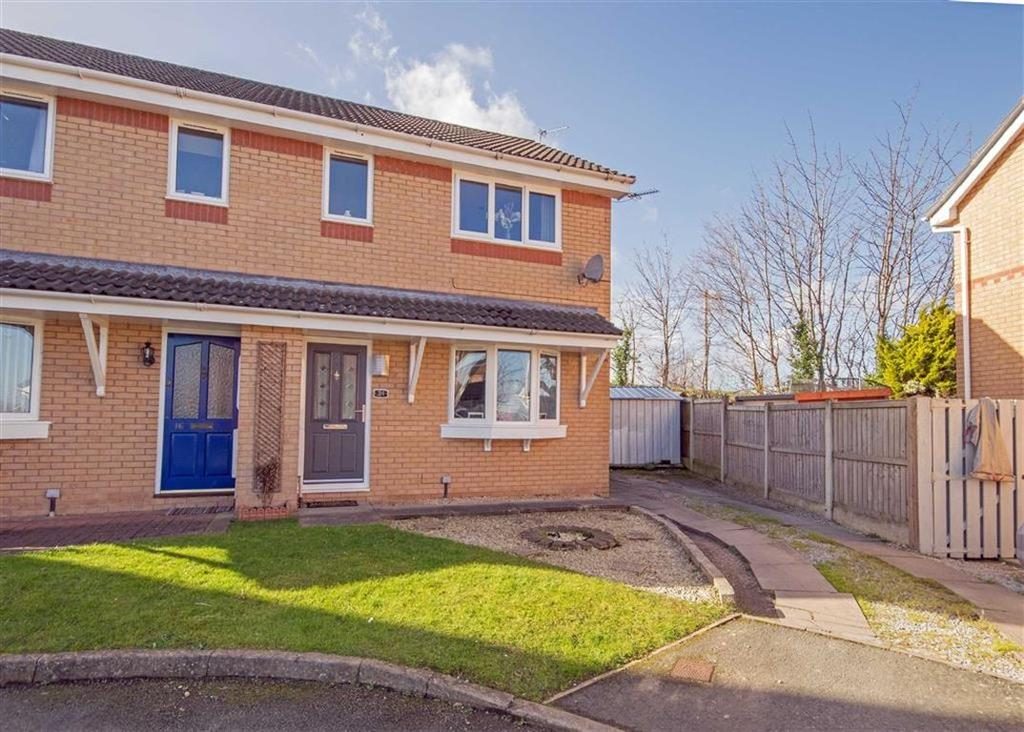 3 Bedrooms Semi Detached House for sale in Vermeer Close, Connah's Quay, Deeside