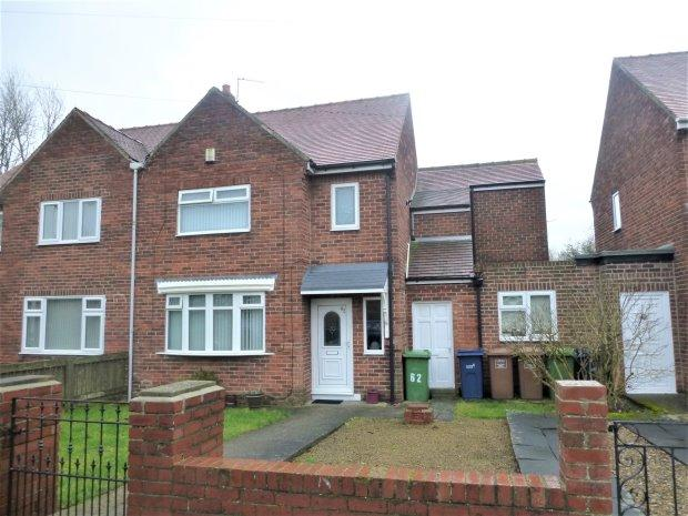 4 Bedrooms Semi Detached House for sale in LABURNUM GROVE, CASTLETOWN, SUNDERLAND NORTH