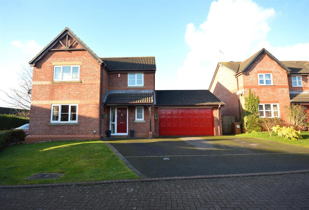 4 Bedrooms Detached House for sale in Fishermans Close, Winterley, Sandbach