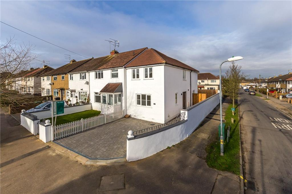 2 Bedrooms End Of Terrace House for sale in Napsbury Avenue, London Colney, St. Albans, Hertfordshire