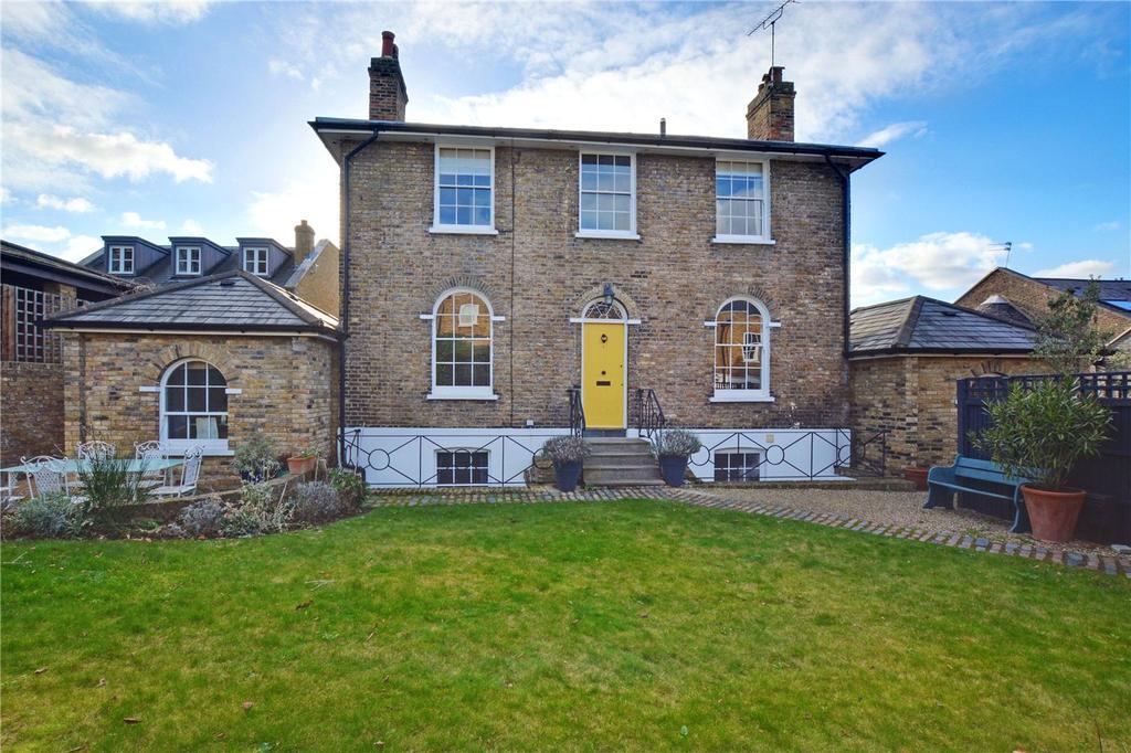 5 Bedrooms Detached House for sale in Trafalgar Cottage, Georgette Place, SE10