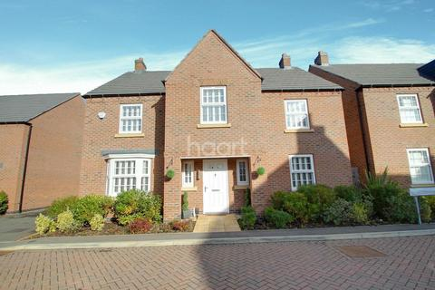 4 bedroom detached house for sale - Slatewalk Way, Glenfield, Leicester