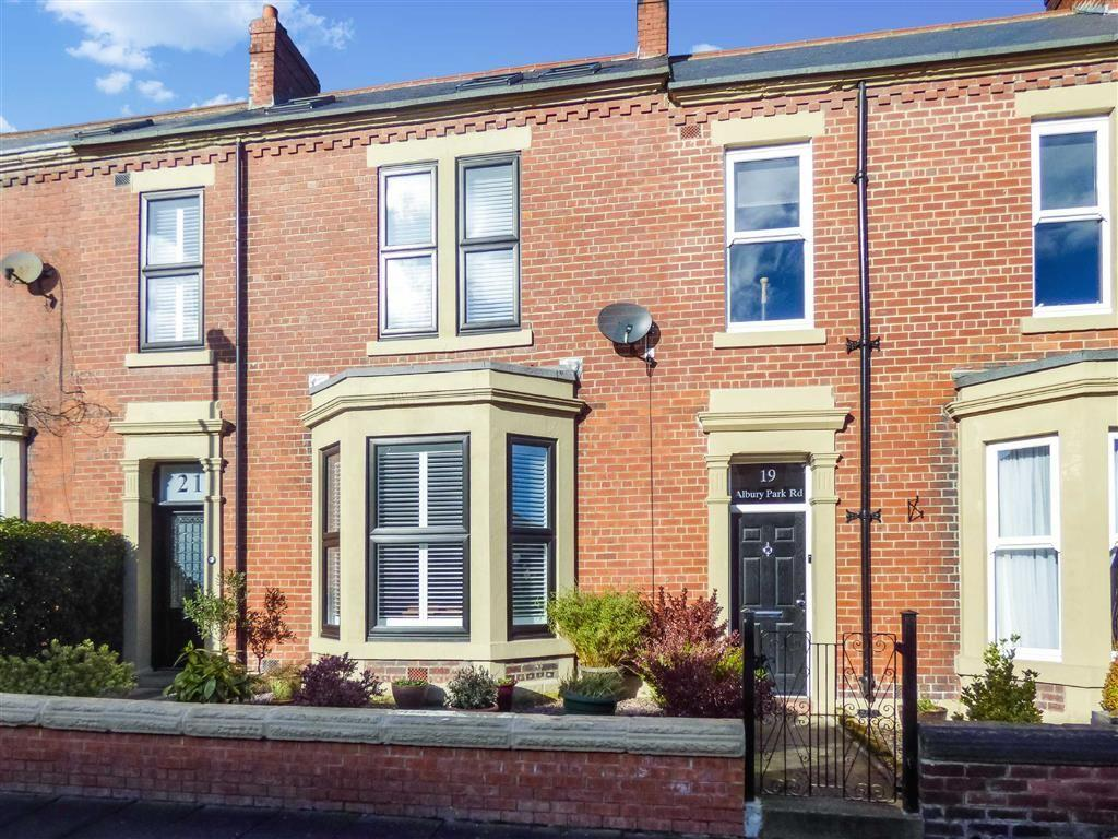 4 Bedrooms Terraced House for sale in Albury Park Road, Tynemouth