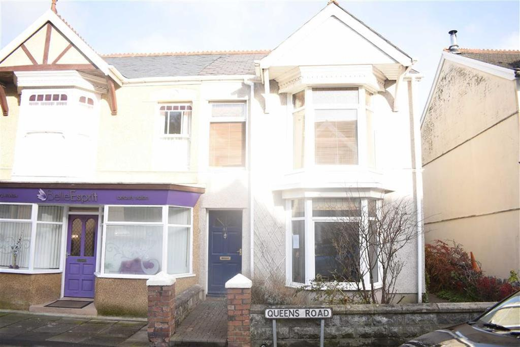 3 Bedrooms Semi Detached House for sale in Queens Road, Mumbles, Swansea
