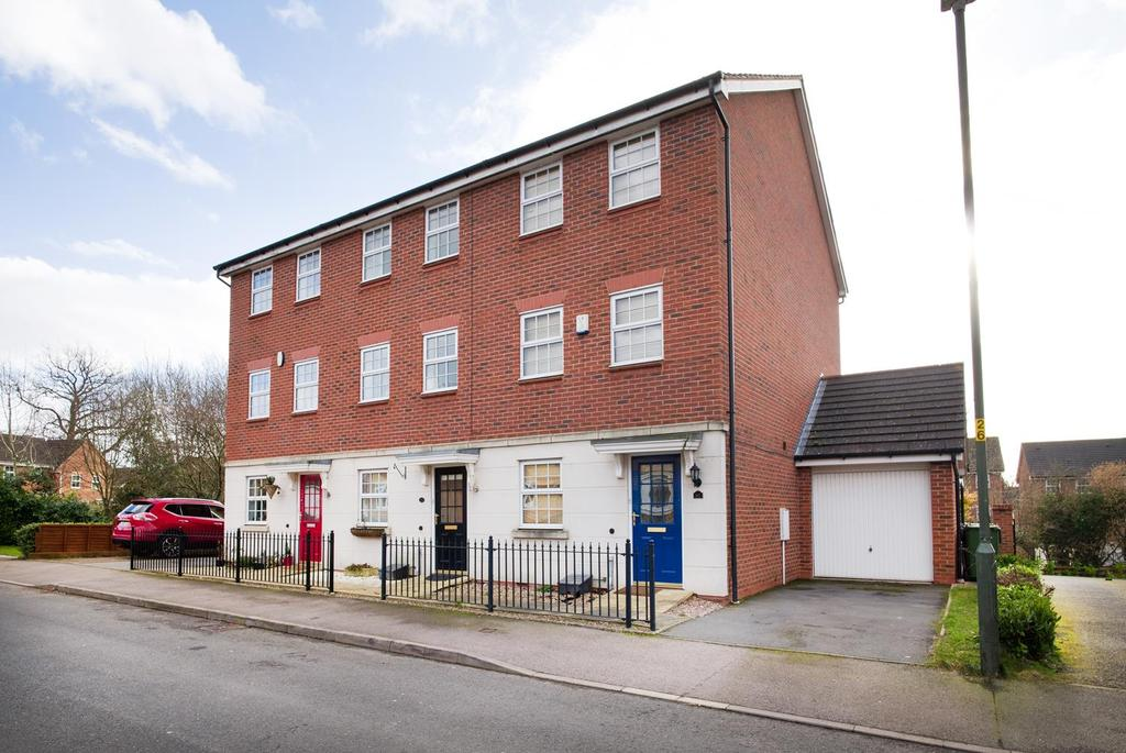 3 Bedrooms End Of Terrace House for sale in Royal Worcester Crescent, Bromsgrove