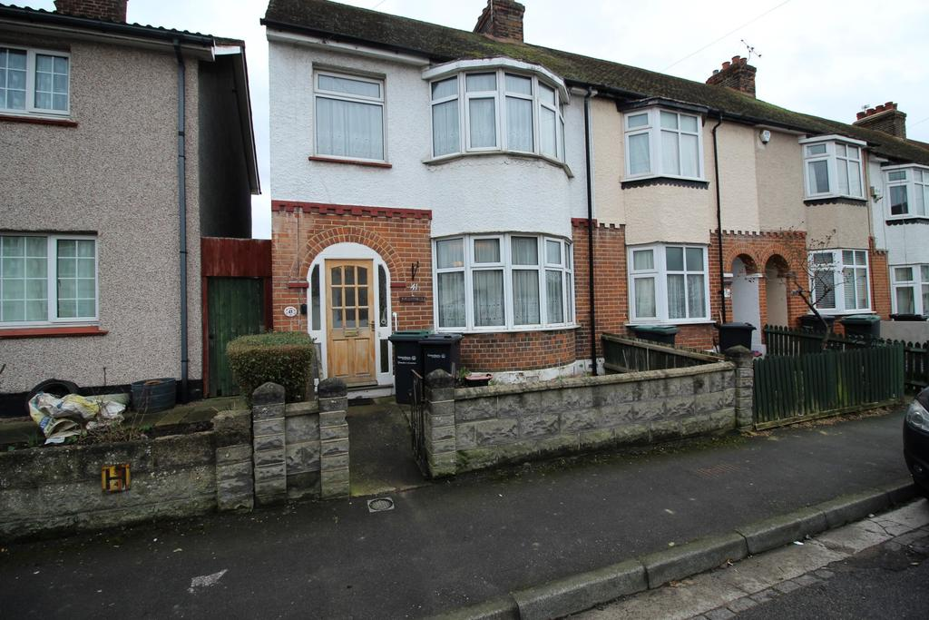 3 Bedrooms End Of Terrace House for sale in Seymour Road, Northfleet DA11