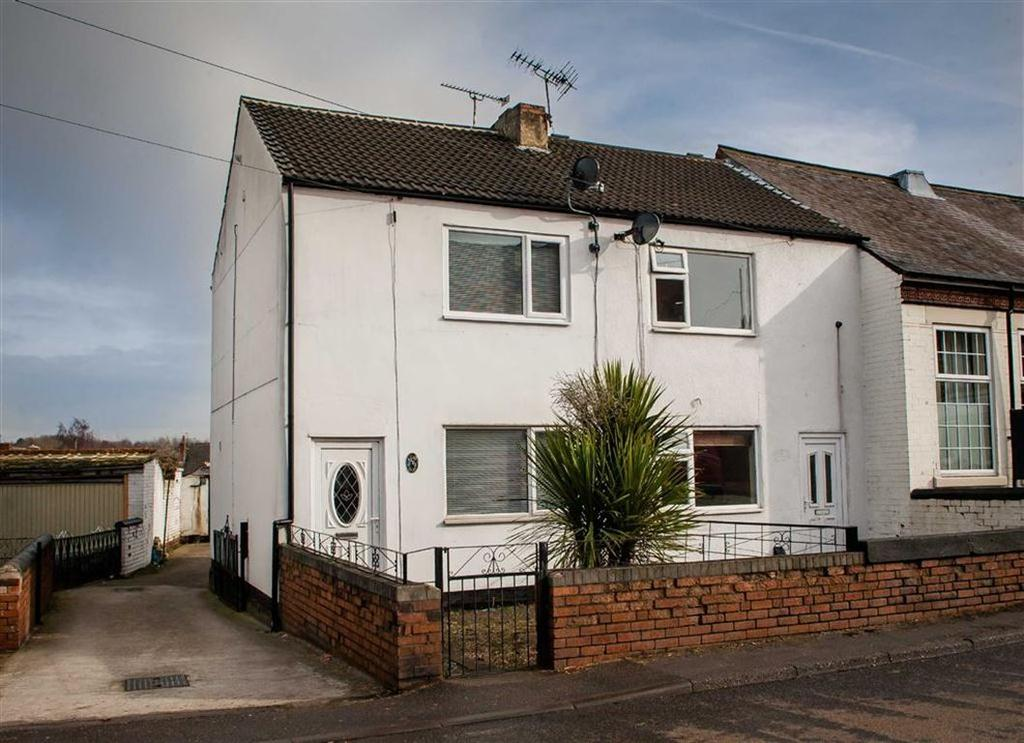 3 Bedrooms Semi Detached House for rent in North Wingfield Road, Grassmoor, Chesterfield, Derbyshire, S42