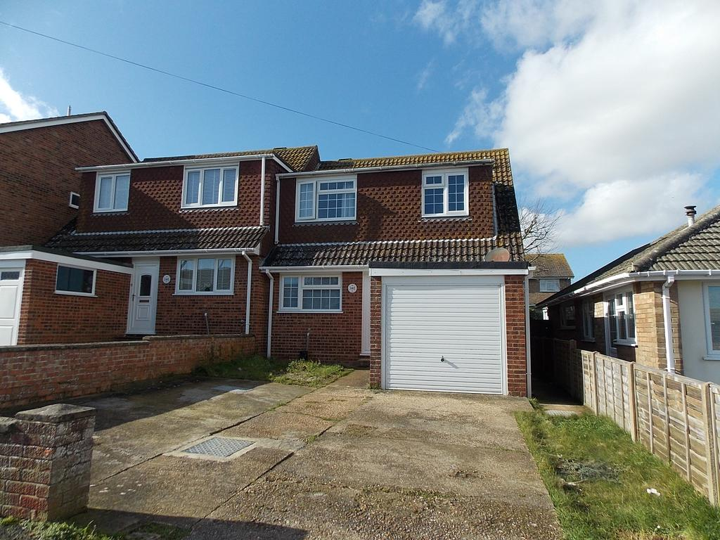 3 Bedrooms Semi Detached House for sale in Hoddern Avenue, Peacehaven, East Sussex