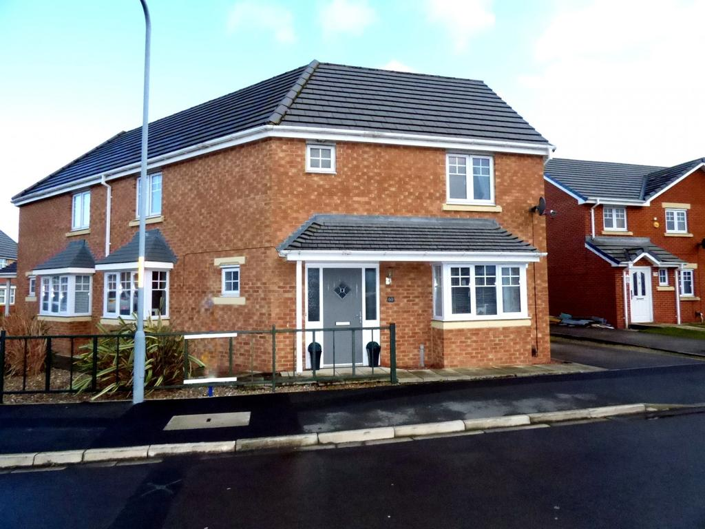 3 Bedrooms Semi Detached House for sale in Wensleydale Gardens, Thornaby, Stockton-On-Tees, TS17