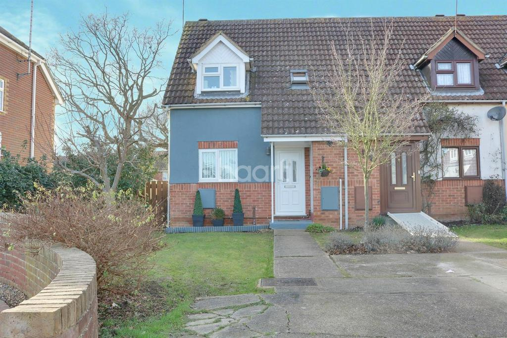 2 Bedrooms End Of Terrace House for sale in Allerton Close, Ashingdon
