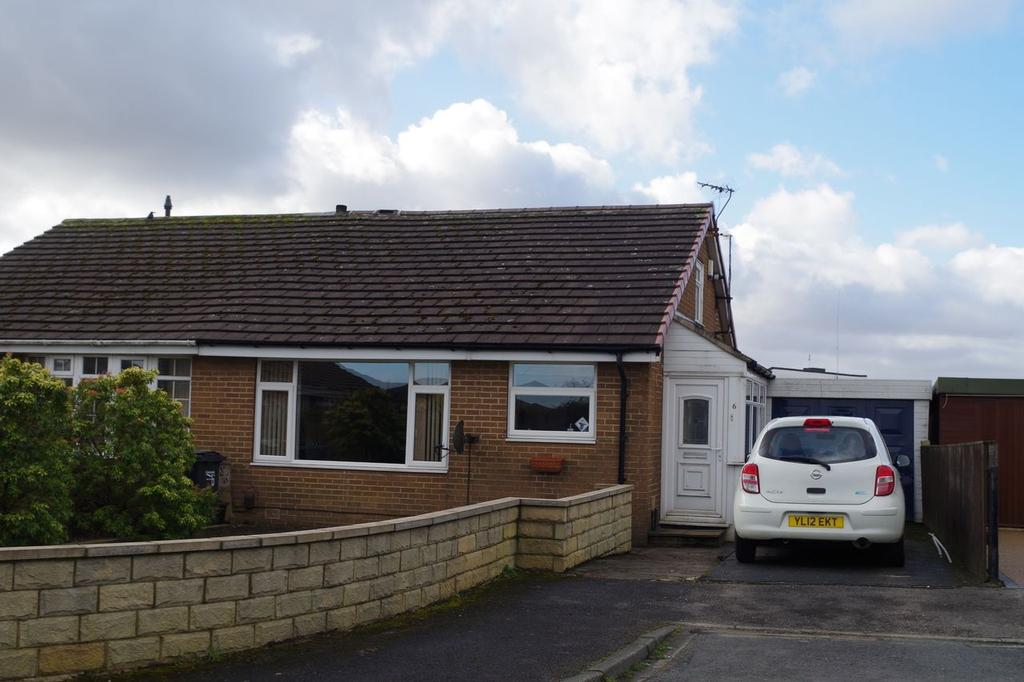 2 Bedrooms Bungalow for sale in Belrave Close, Claremount, Halifax HX3