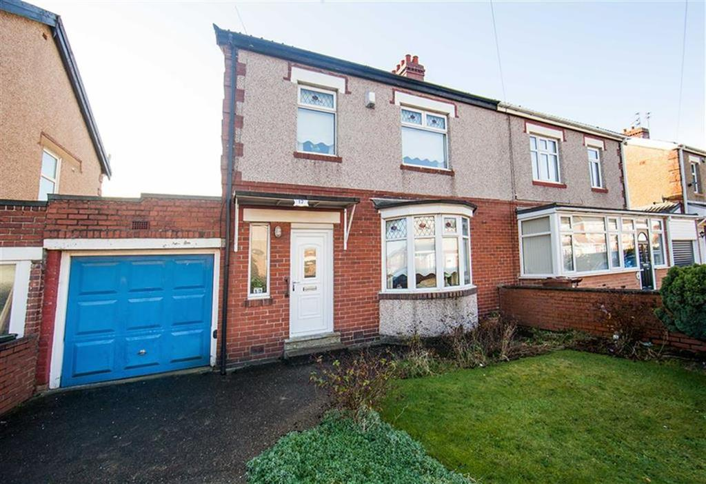 3 Bedrooms Semi Detached House for sale in Northmoor Road, Walkergate, Newcastle Upon Tyne, NE6