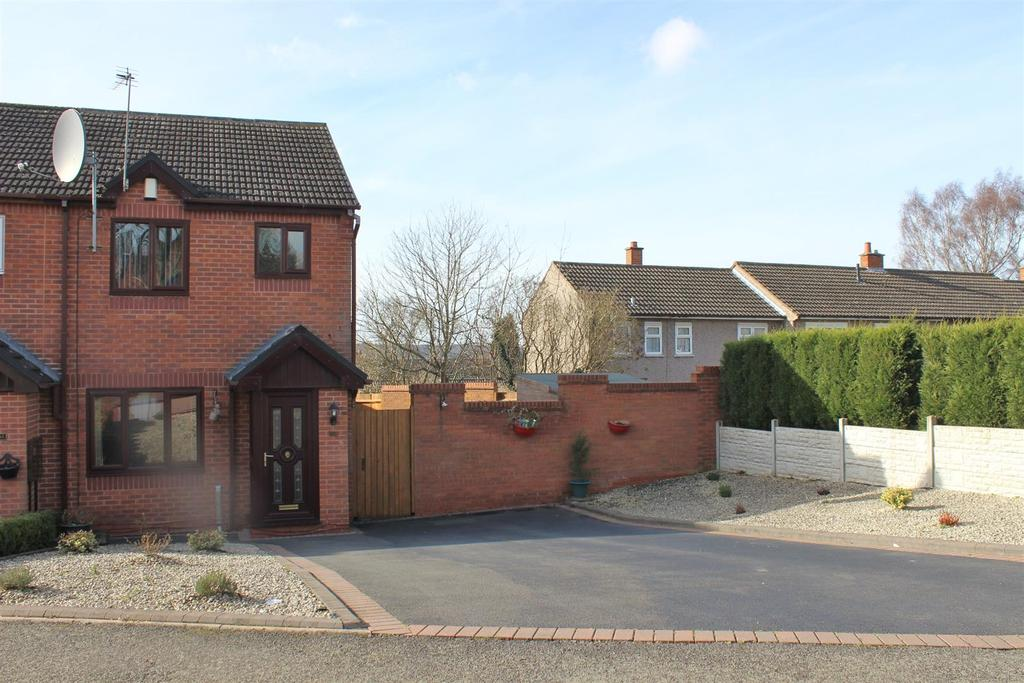 3 Bedrooms End Of Terrace House for sale in Dryden Road, Tamworth
