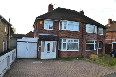 3 bedroom semi-detached house for sale - Bramcote Road, Wigston Fields, Leicestershire, LE18