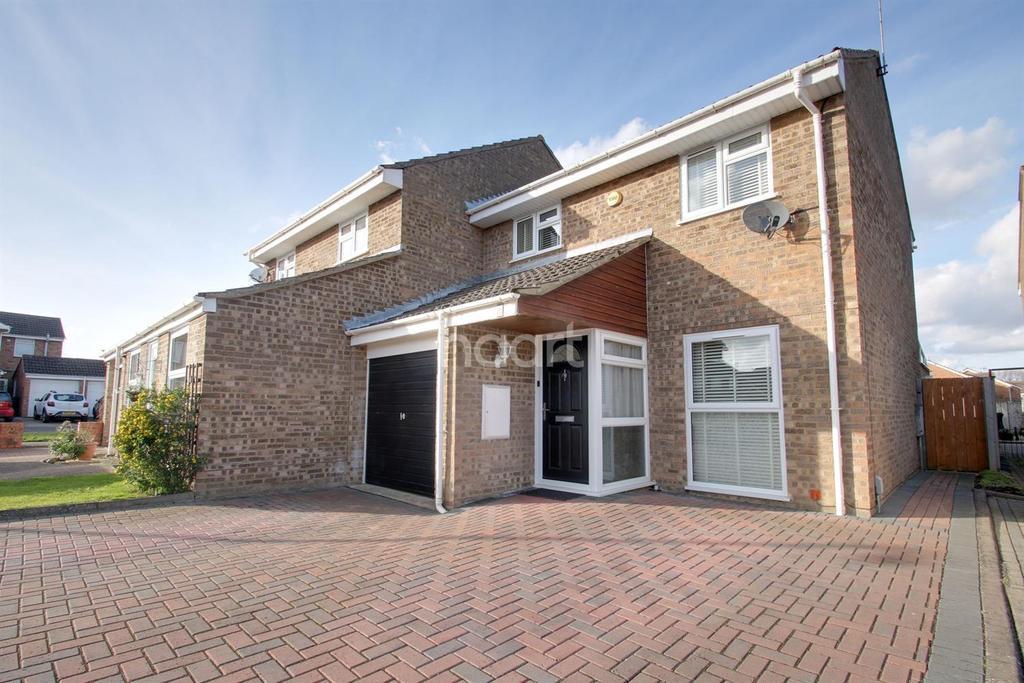 3 Bedrooms Semi Detached House for sale in Beddington Court, Kingsdown Park