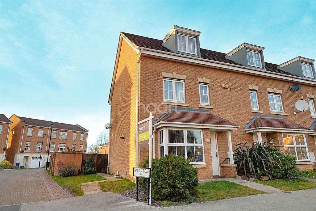 4 Bedrooms End Of Terrace House for sale in Harris Road, Armthorpe, Doncaster