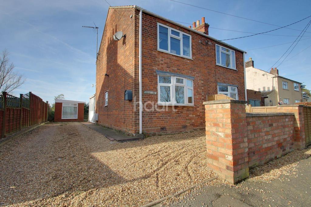 2 Bedrooms Semi Detached House for sale in Roman Bank, Leverington