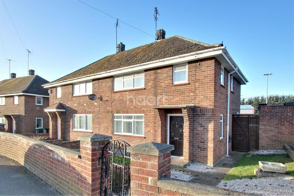 3 Bedrooms Semi Detached House for sale in Hove Road, Rushden