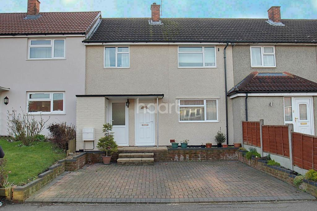 3 Bedrooms Terraced House for sale in Wigram Way, Shephall, Stevenage
