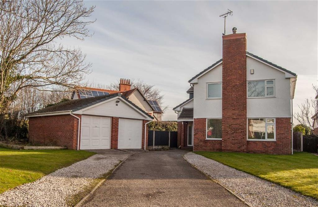 4 Bedrooms Detached House for sale in Rodens Close, Rossett, Wrexham, Rossett
