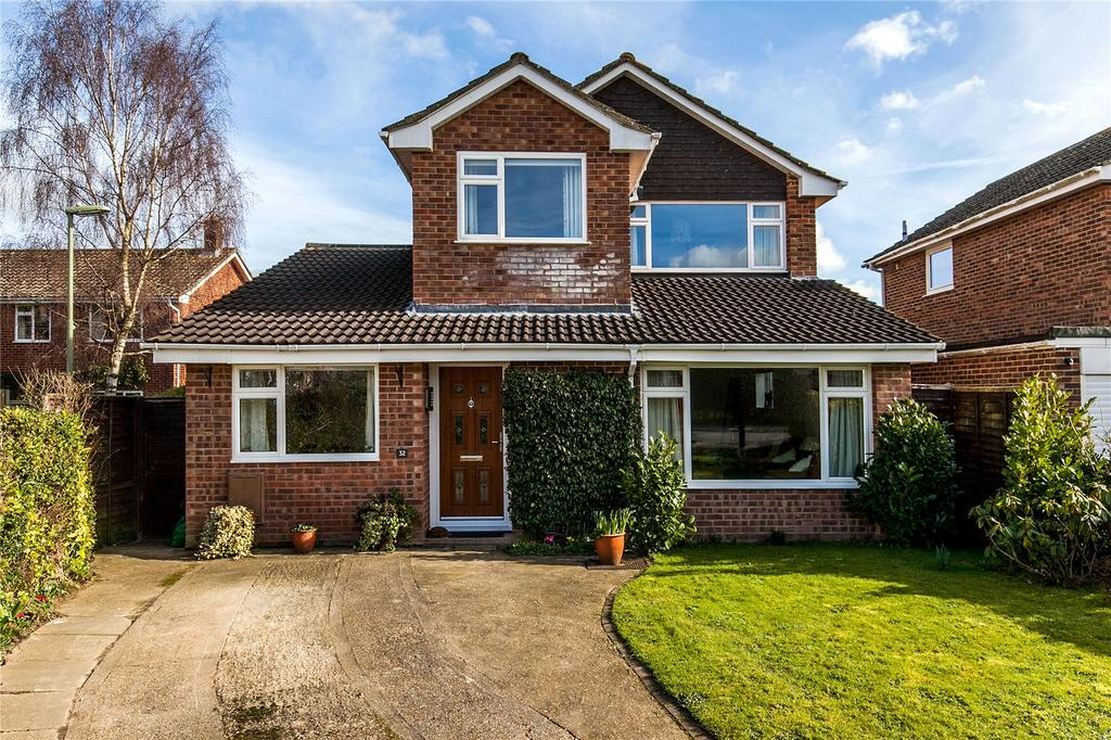 4 Bedrooms Detached House for sale in Courtenay Road, Winchester, Hampshire, SO23