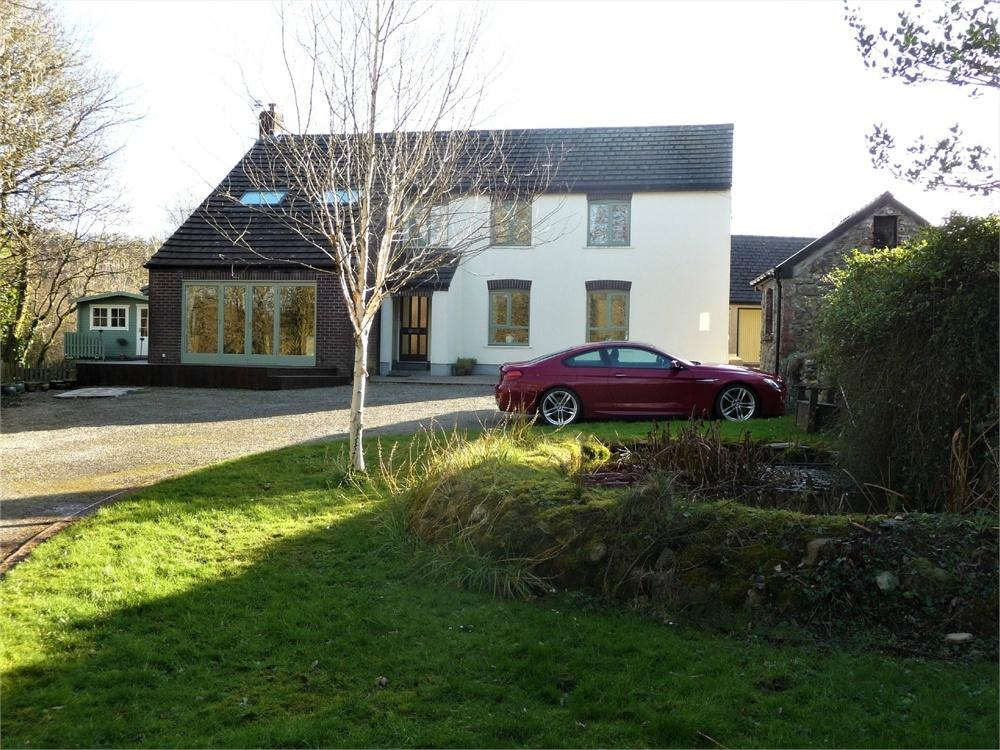 7 Bedrooms Detached House for sale in Ford House and Ford Cottage, Wolfscastle, Haverfordwest, Pembrokeshire