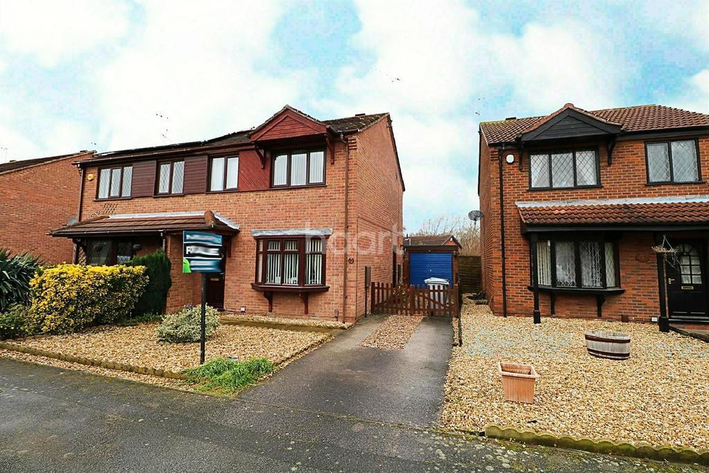 3 Bedrooms Semi Detached House for sale in Heron Way, Balderton