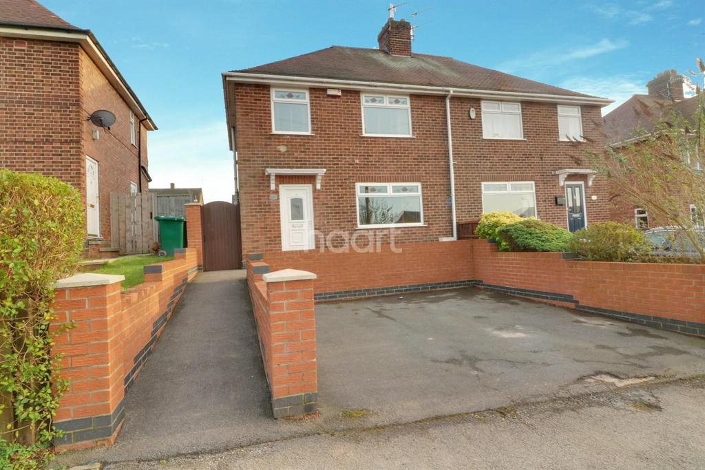 3 Bedrooms Semi Detached House for sale in Rolleston Drive, Arnold, Nottingham.