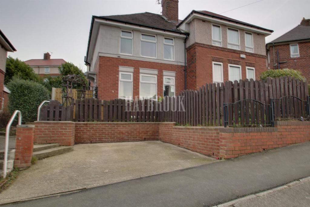 3 Bedrooms Semi Detached House for sale in Thornborough Road, Arbourthorne