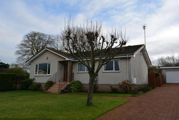 3 Bedrooms Detached Bungalow for sale in 3 Arran Drive, Kirkintilloch, G66 1QU