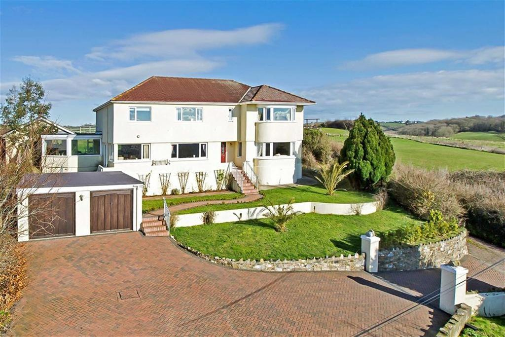 5 Bedrooms Detached House for sale in Fluder Hill, Kingskerswell, Newton Abbot, Devon, TQ12