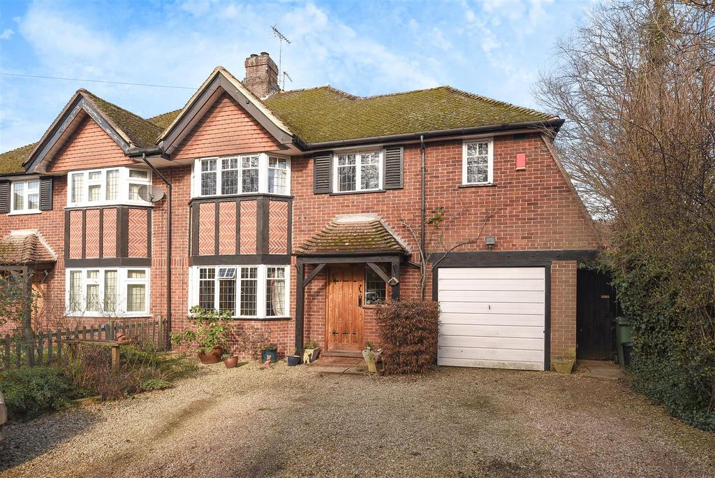4 Bedrooms Semi Detached House for sale in Burlington Crescent, Headington, Oxford