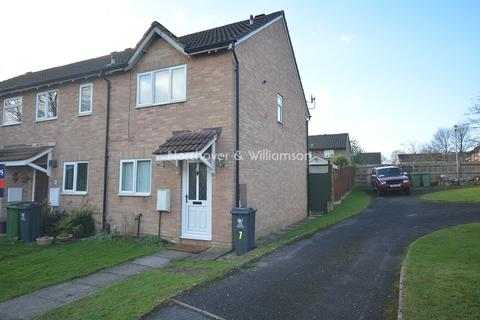 2 bedroom end of terrace house to rent - Osprey Close, St Mellons, Cardiff. CF3 0DG