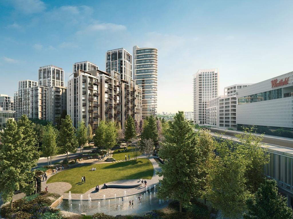 2 Bedrooms Apartment Flat for sale in Belvedere Row, White City Living, White City, W12