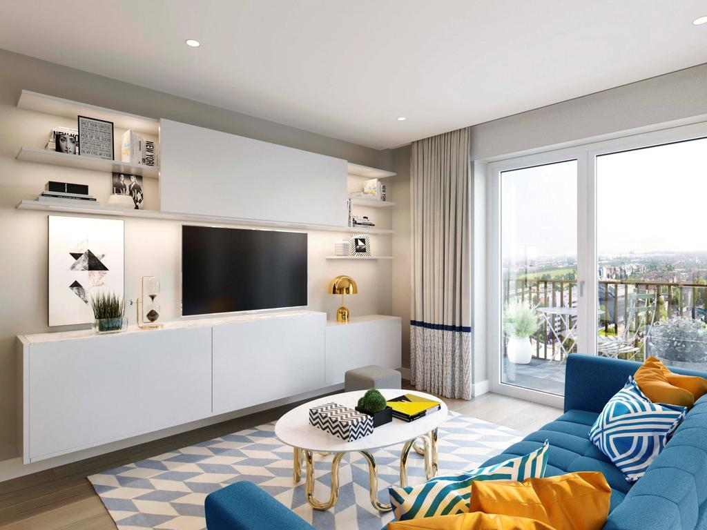 2 Bedrooms Apartment Flat for sale in Lincoln, White City Living, White City, W12