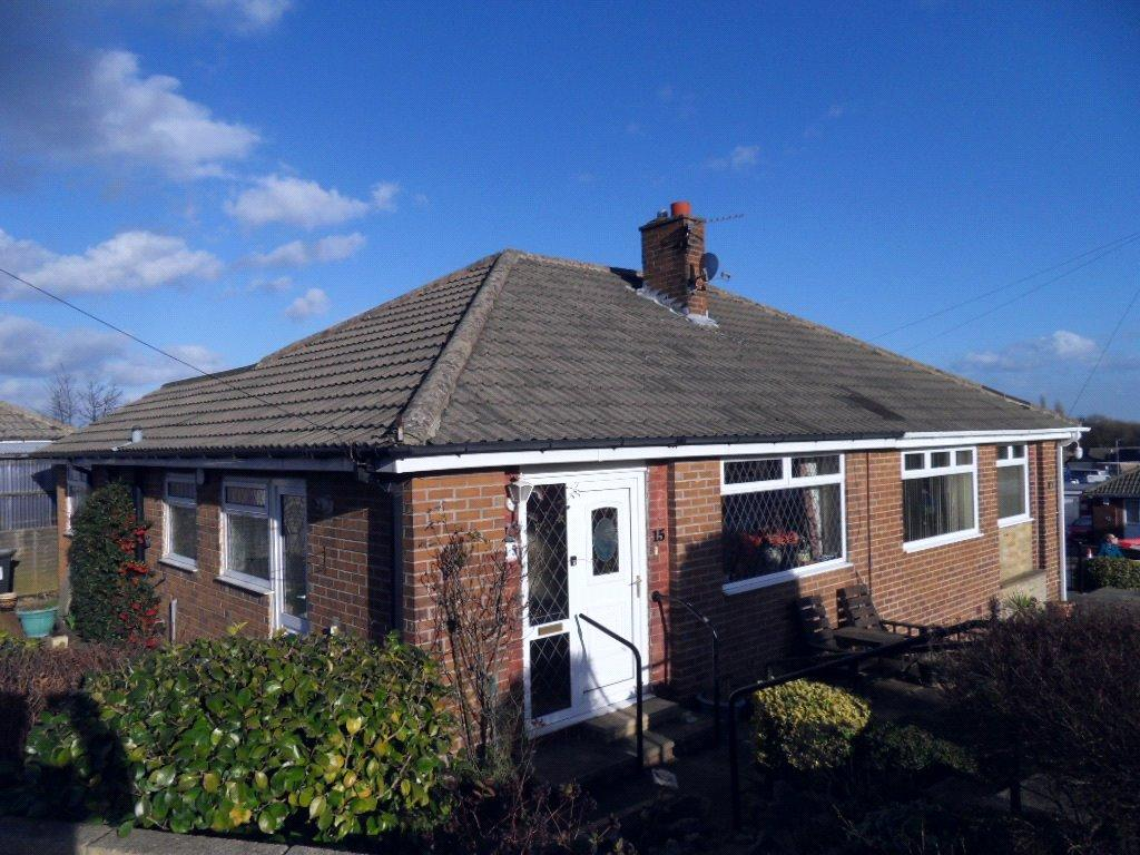 2 Bedrooms Semi Detached Bungalow for sale in Squirrel Walk, Dewsbury, West Yorkshire, WF13