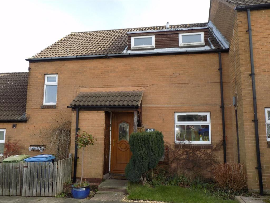 2 Bedrooms Terraced House for sale in Larwood Avenue, Worksop, Nottinghamshire, S81