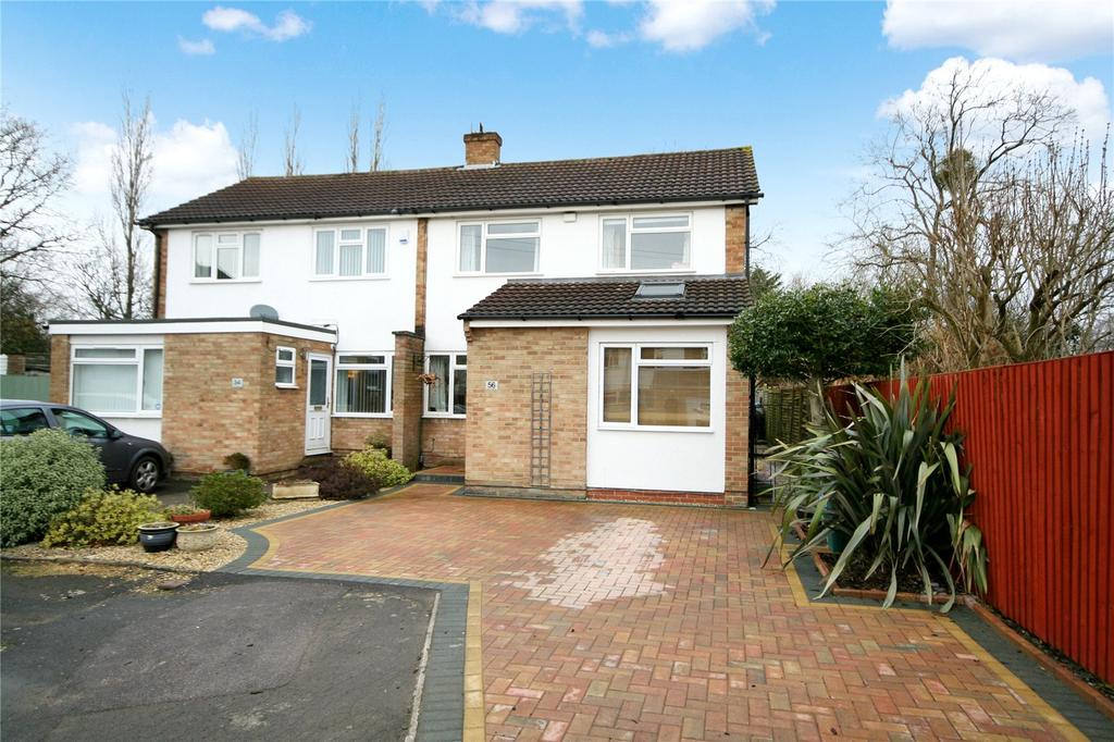 3 Bedrooms Semi Detached House for sale in Hollis Gardens, Hatherley, Cheltenham, GL51