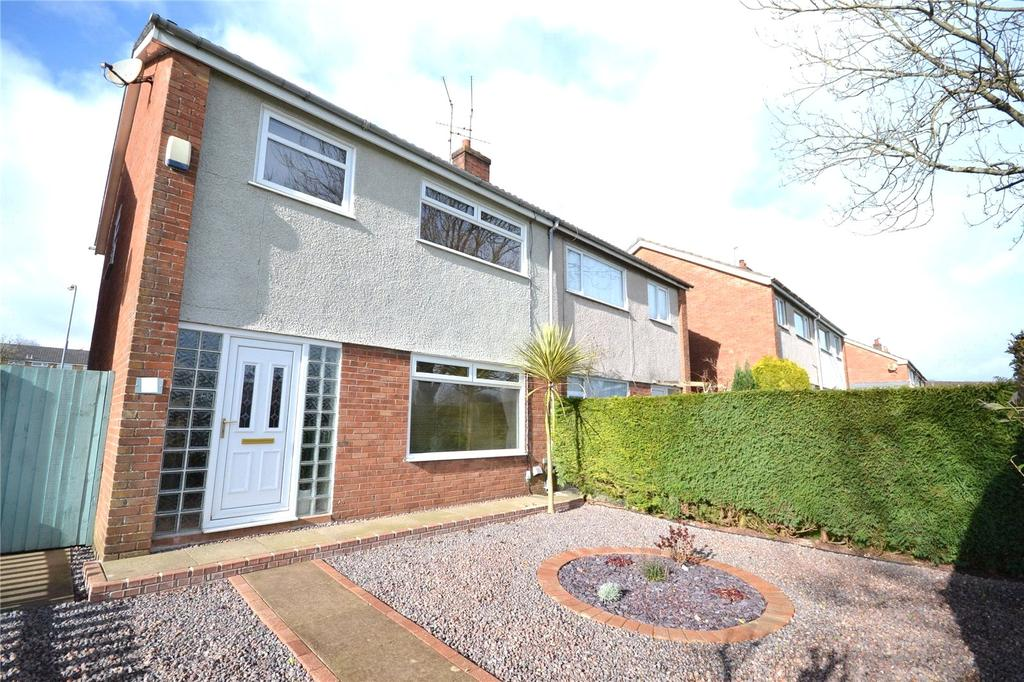 3 Bedrooms Semi Detached House for sale in Glenwood, Llanedeyrn, Cardiff, CF23
