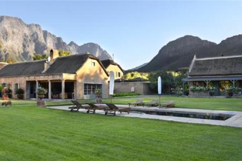 Farm house  - Burgundy Bourgogne, Franschhoek, Western Cape