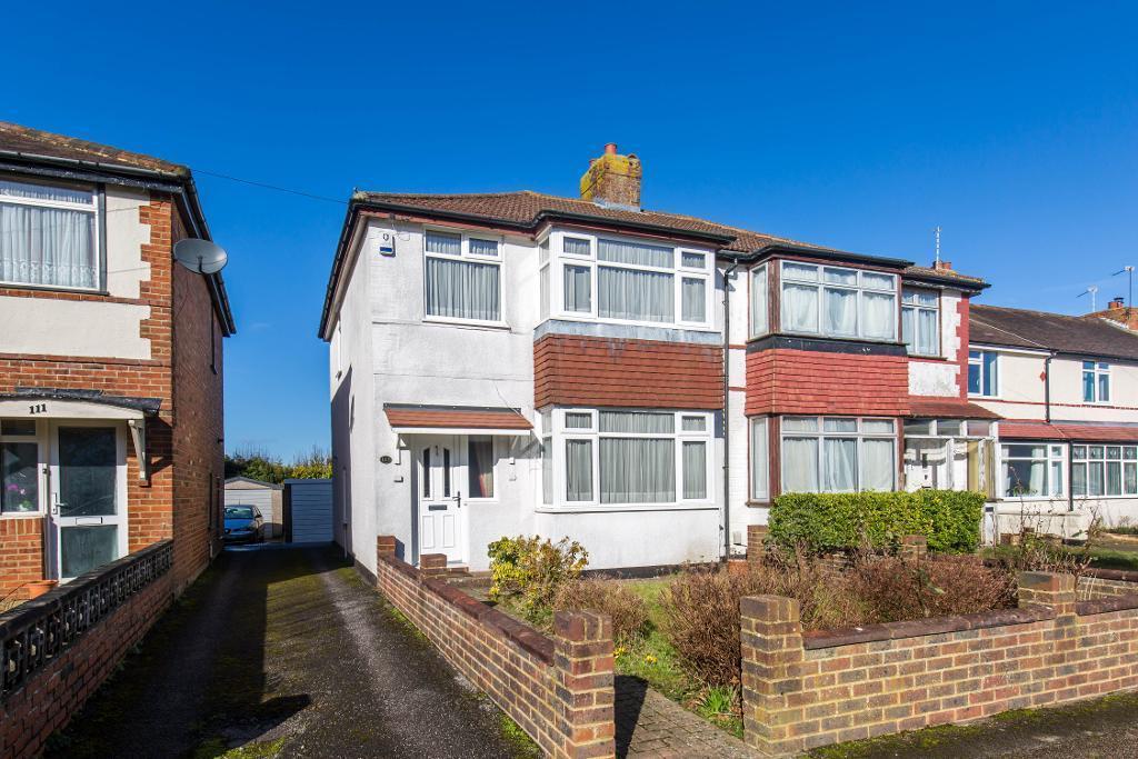3 Bedrooms Semi Detached House for sale in Hamsey Green Gardens, Warlingham, Surrey, CR6 9RT