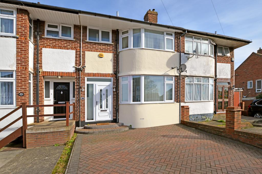 3 Bedrooms Terraced House for sale in Elmore Road, Round Green, Luton, LU2 0QB