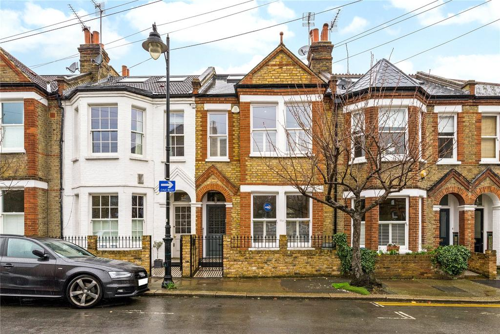 4 Bedrooms Terraced House for sale in Ruvigny Gardens, Putney, London, SW15