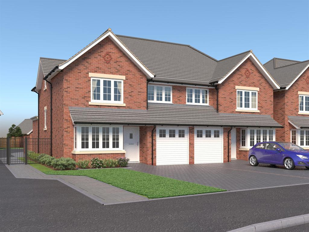 4 Bedrooms Semi Detached House for sale in Apple Gardens, Rectory Road, Sutton Coldfield