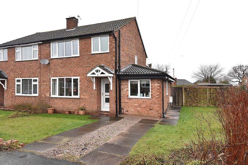 3 Bedrooms Semi Detached House for sale in Carlisle Close, Knutsford