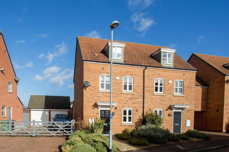 3 Bedrooms Town House for sale in Jackson Way, Stamford