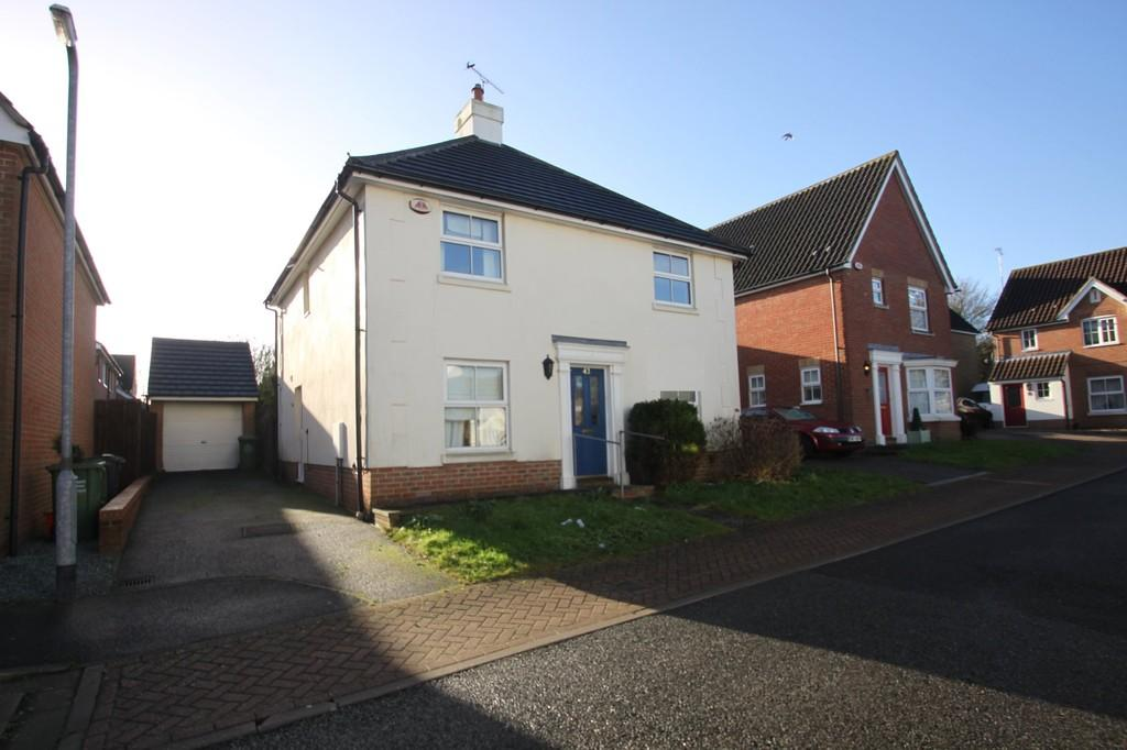 4 Bedrooms Detached House for sale in Czarina Rise, Basildon