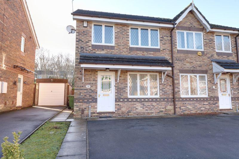 3 Bedrooms Semi Detached House for sale in Orchid Rise, Scunthorpe