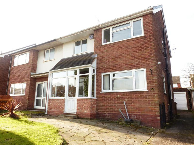 3 Bedrooms Semi Detached House for sale in Hundred Acre Road, Streetly
